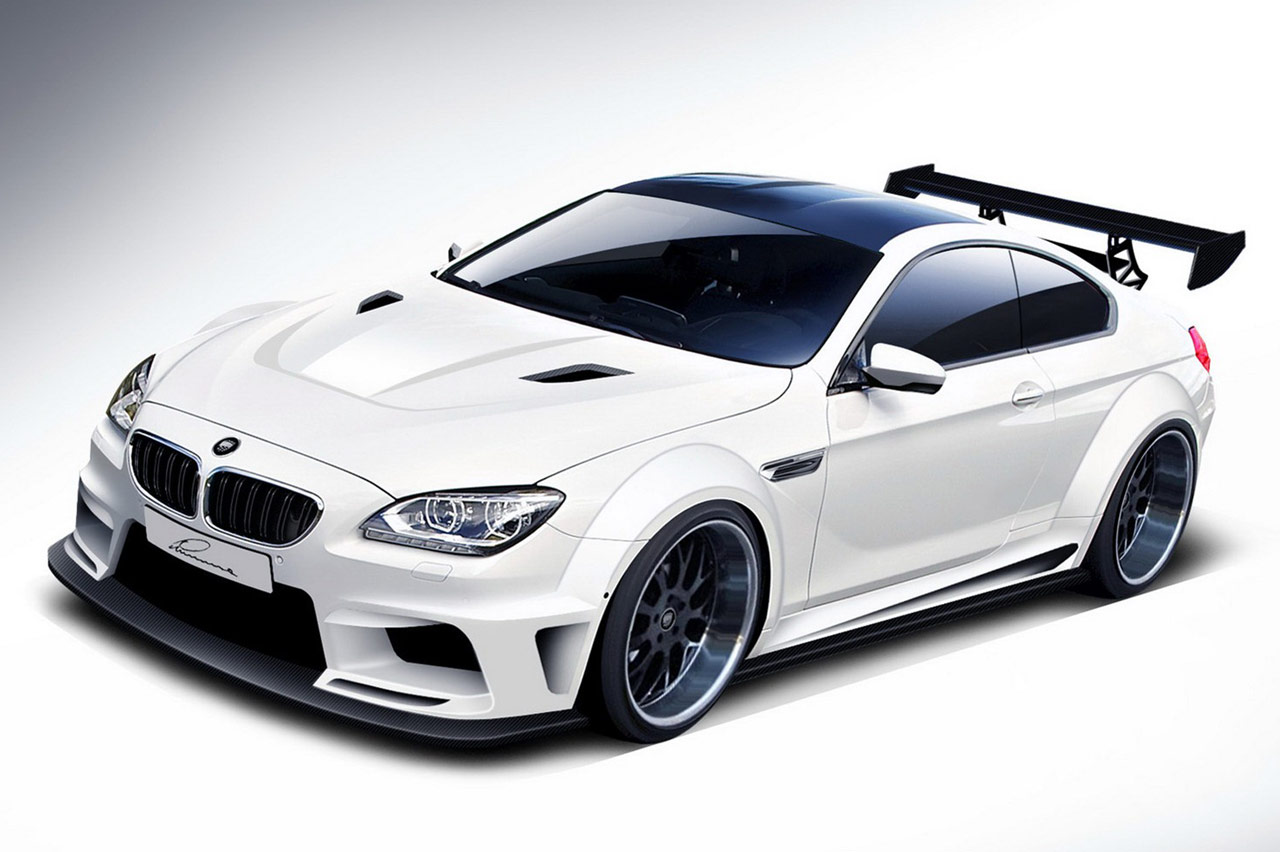 LUMMA CLR BMW  M6 Design  Desktop Backgrounds