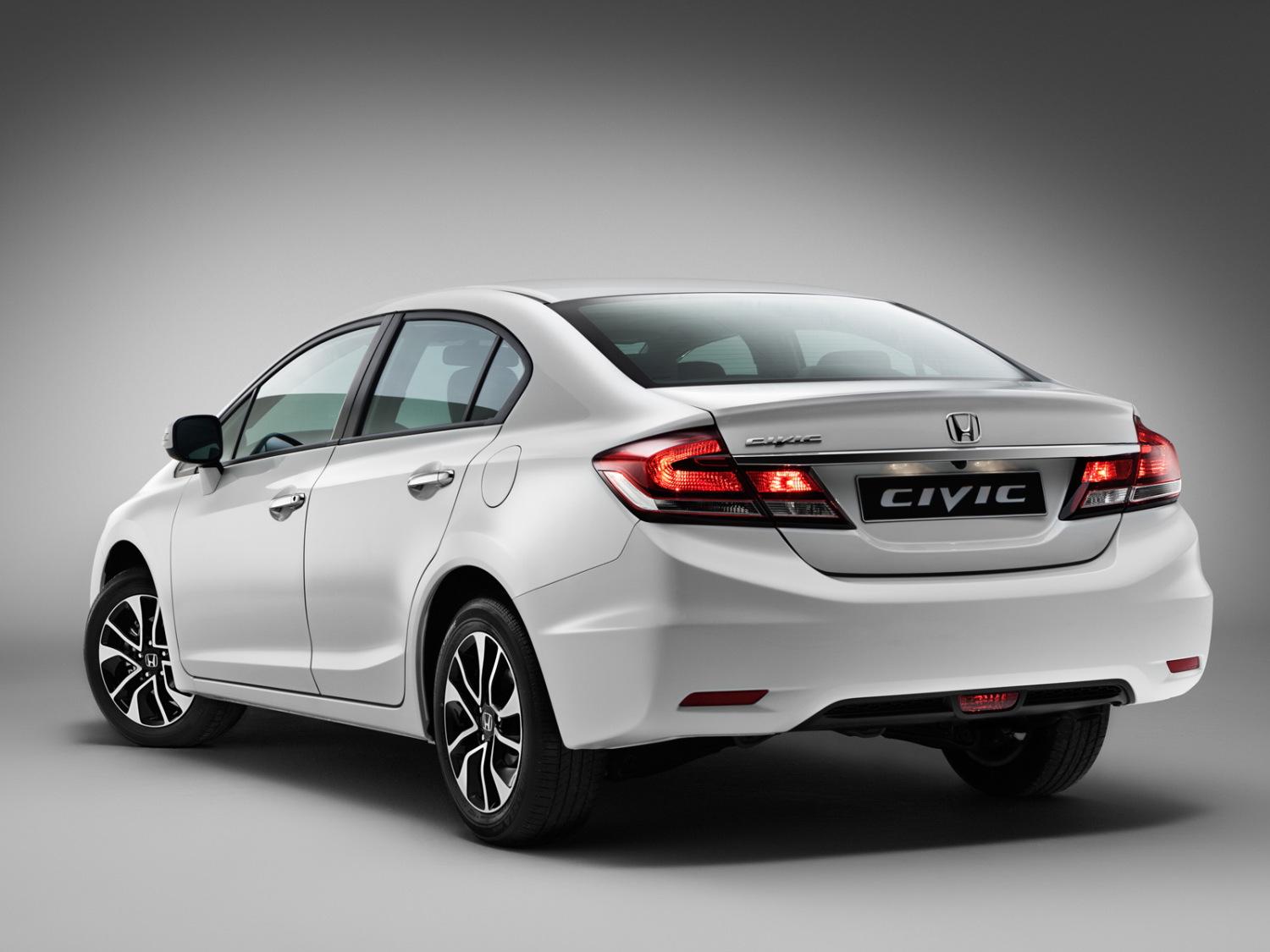 Makyajli Honda Civic Sedan 2014 Avrupa Pazari Wallpapers HD