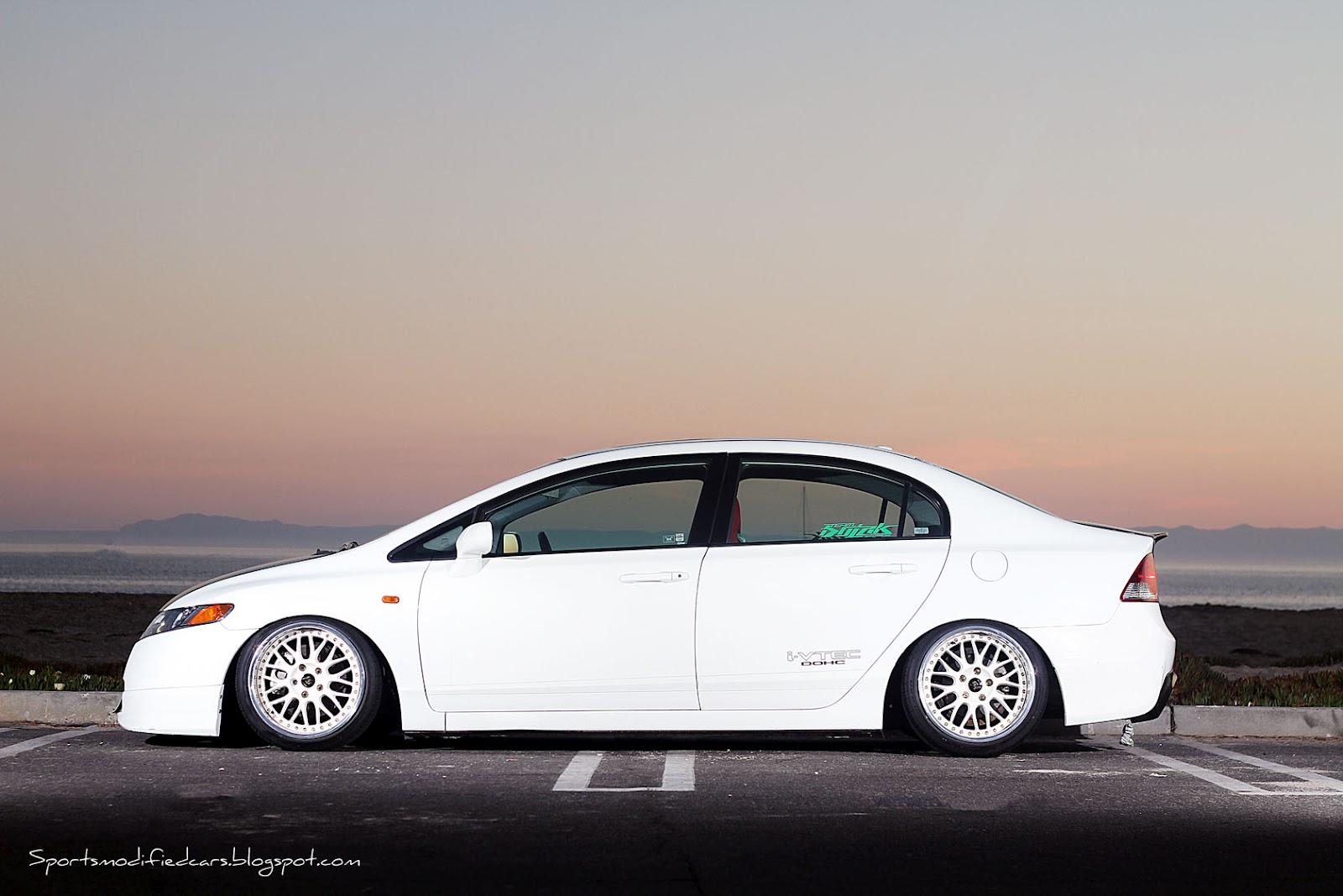 Modified Honda Civic Sedan Si Free Download Image Of