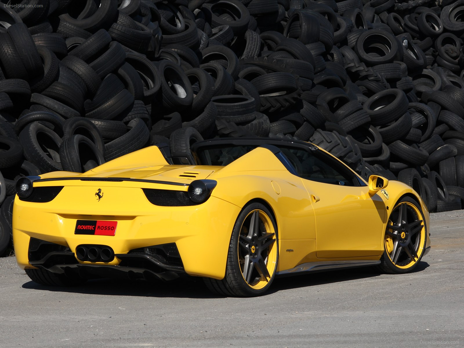 Novitec Rosso Ferrari 458 Spider 2012 World Cars Wallpapers Desktop Download