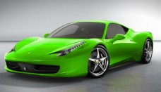 Neon Green Ferrari World Cars Wallpapers Download