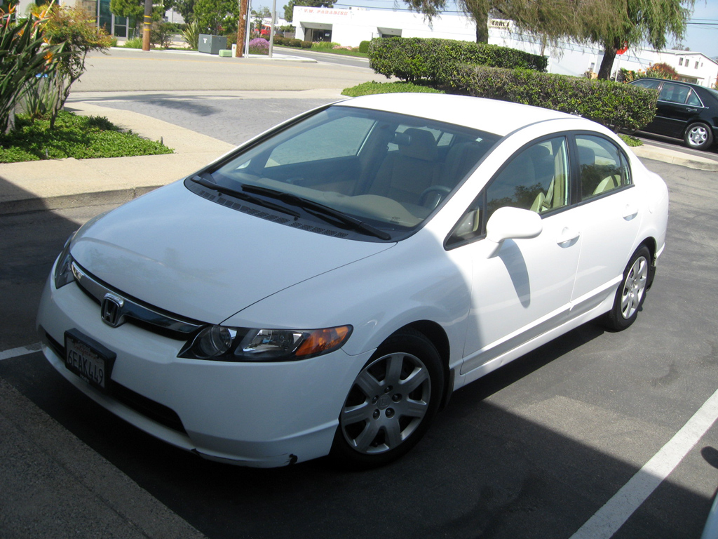 Honda Civic Sold Overview Sedan dx White on Desktop Backgrounds Free