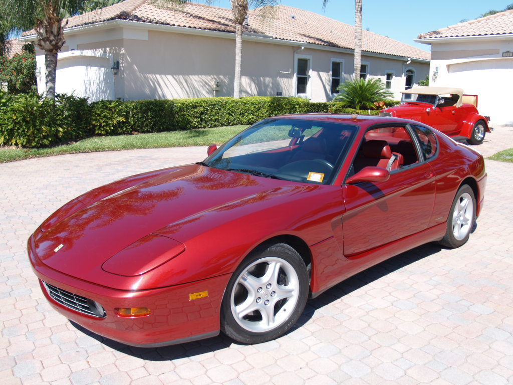 Red Ferrari 456 Pictures World Cars Free Download Image Of