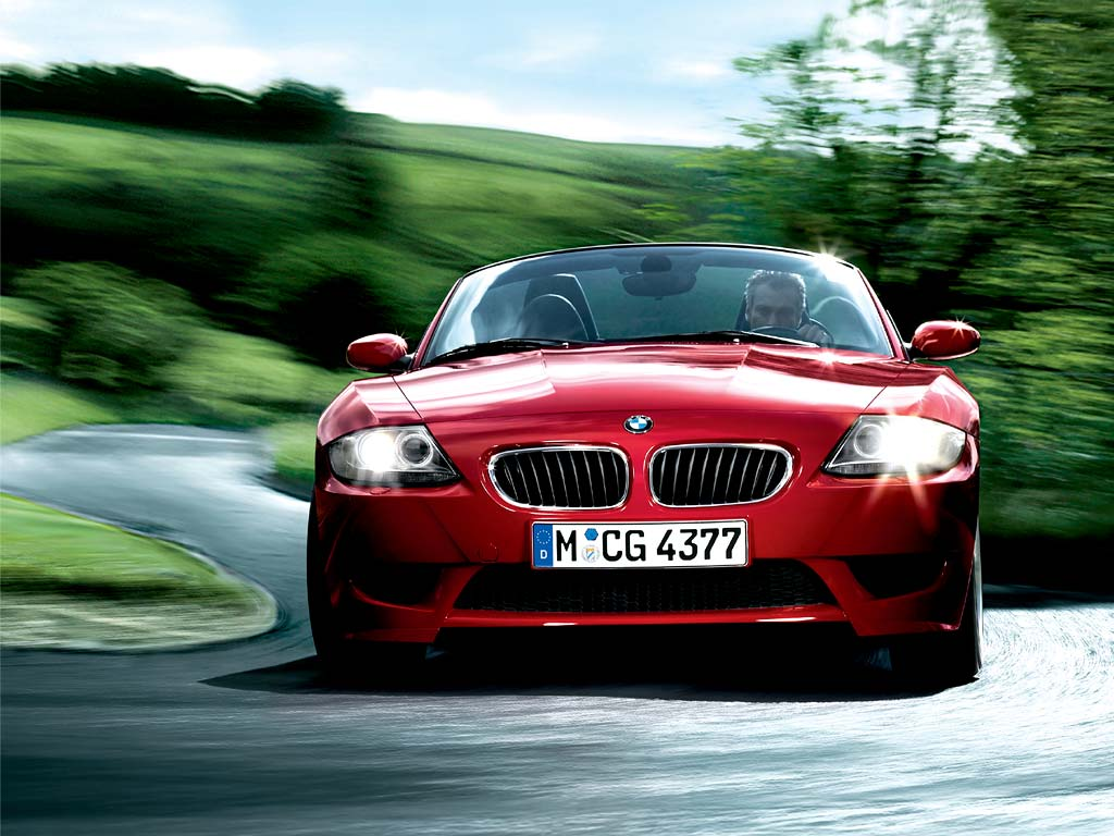 Red BMW Z4 Roadster Pictures Wallpaper Desktop Backgrounds