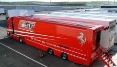 Scuderia Ferrari 2008 Transporter World Cars Wallpaper For Computer