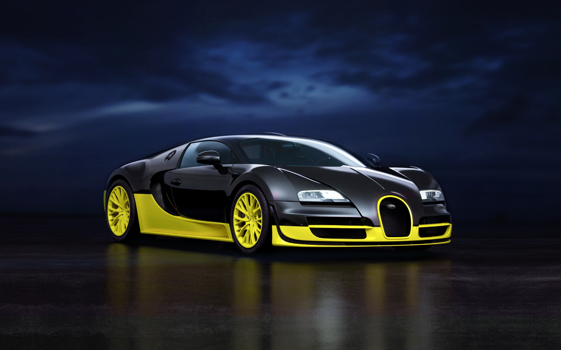 Sport Car HD Wallpapers Bugatti Veyron Super For Iphone