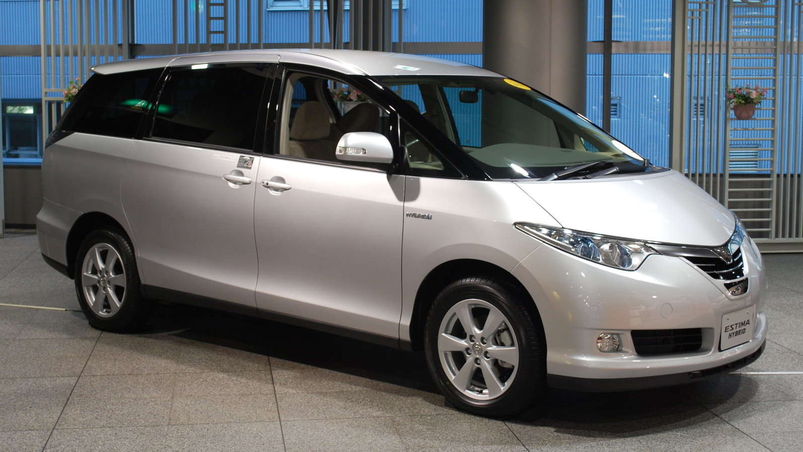 Toyota Estima Hybrid Wallpaper Download