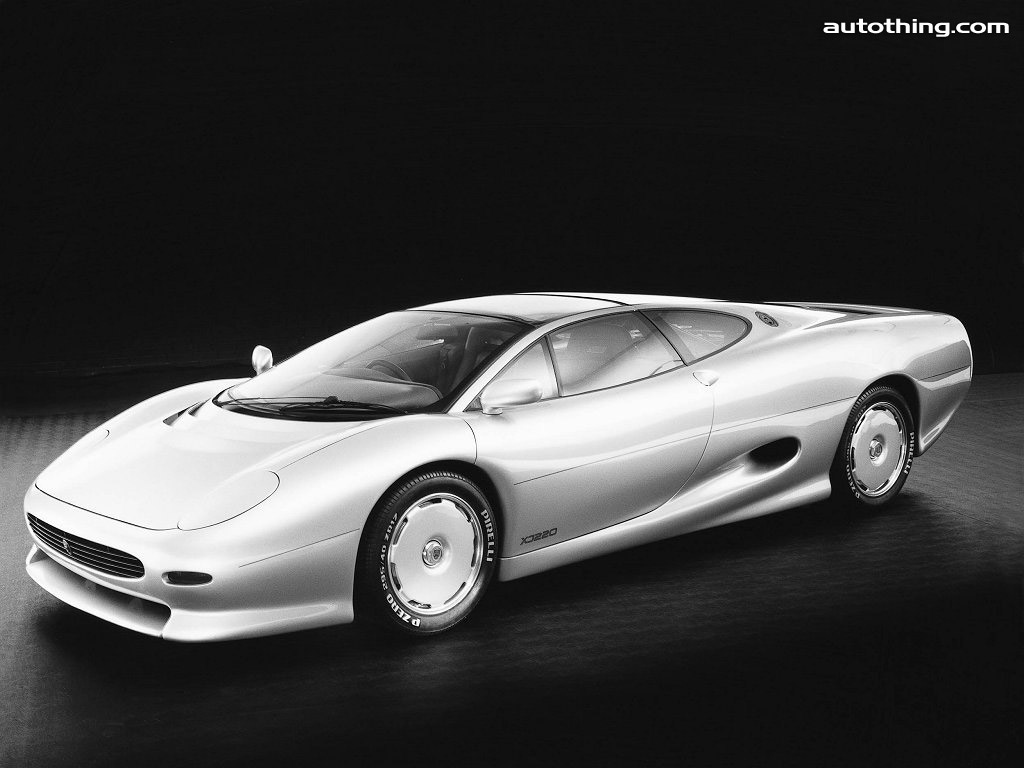 Jaguar XJ 220 Wallpaper For Desktop