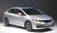 Honda Civic at the Los Angeles Auto Show Wallpaper Backgrounds