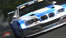 Bmw M3 GTR From Most Wanted In The Racing Version With Wallpaper For Ios
