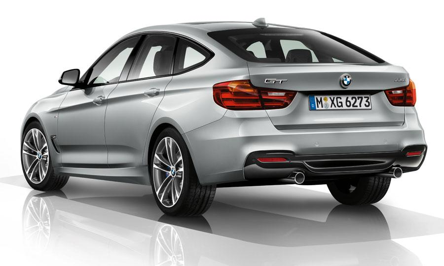 BMW 3 Series GT Rear View of the 2014 Wallpaper For Phone