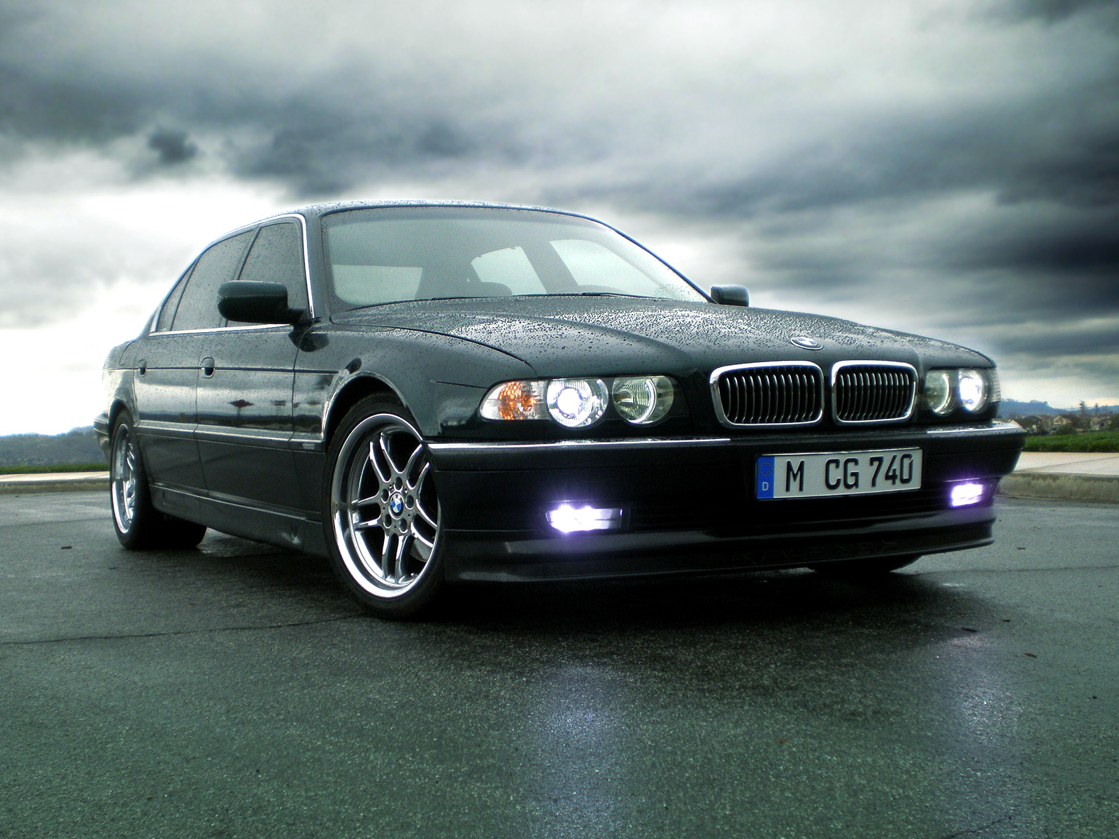 BMW E38 7 Series Desktop Backgrounds