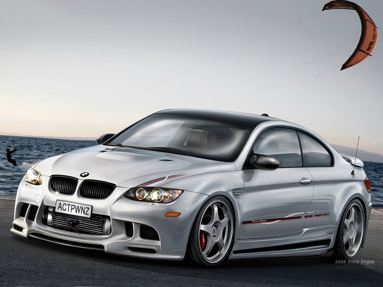 BMW M3 E92 White Wallpapers For Ipad