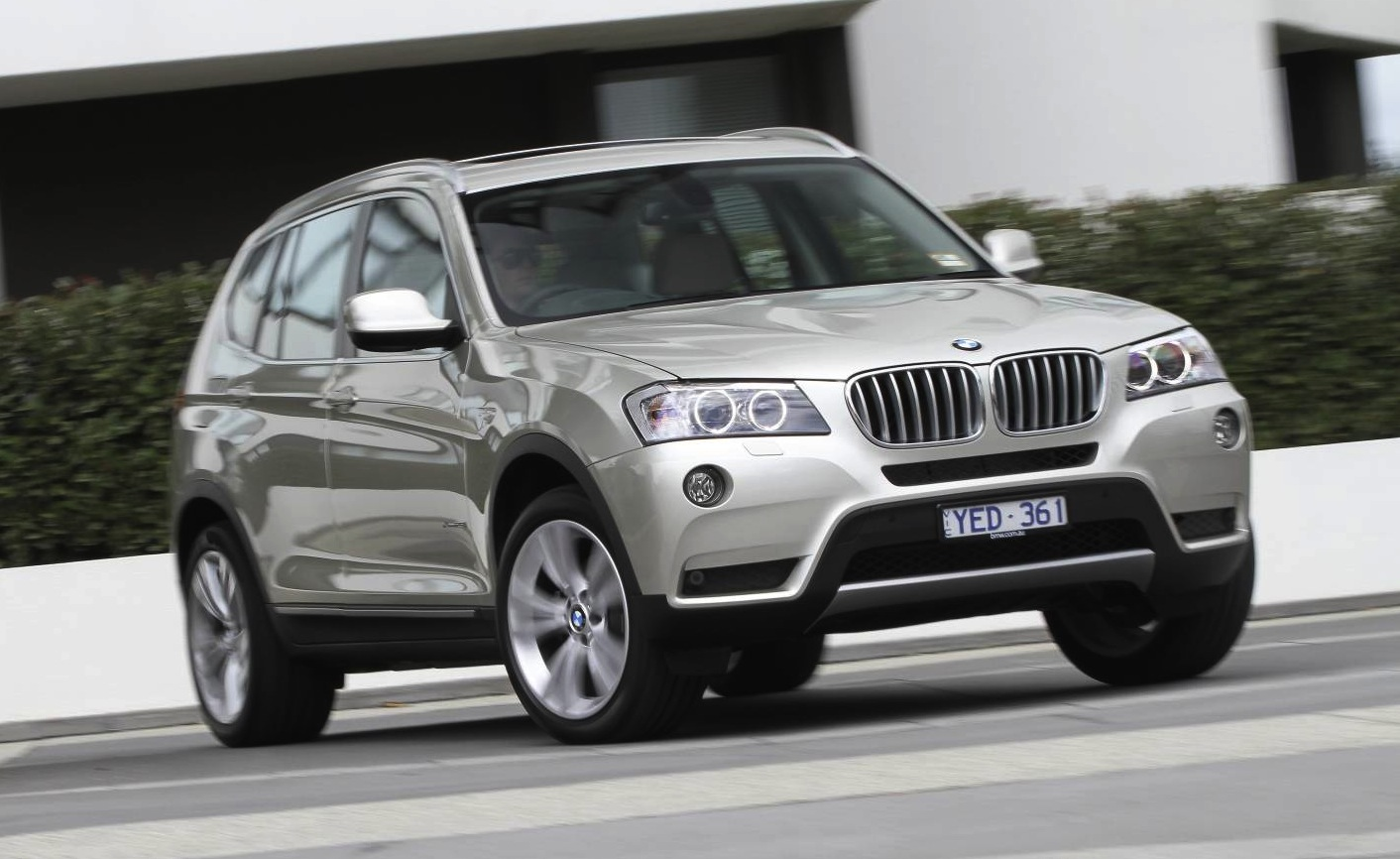 BMW X3 Specification Upgrade Boosts SUV Value Photos Desktop Backgrounds