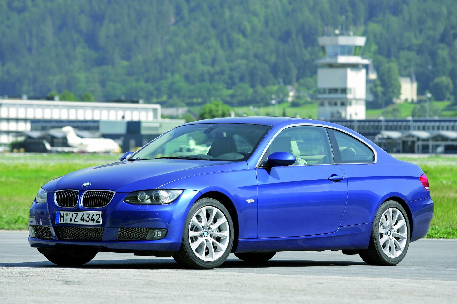 BMW 335i Coupe Blue Wallpaper Desktop Backgrounds