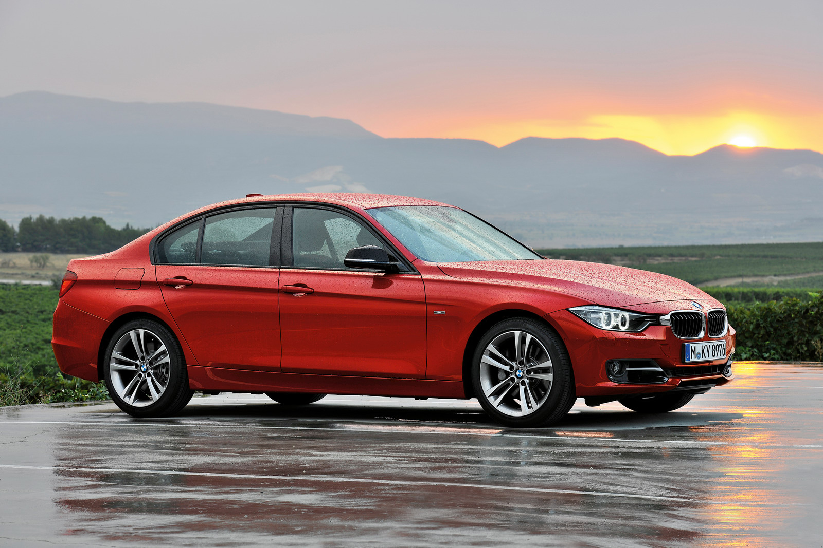 BMW 3 Series F30 Wallpaper For Android