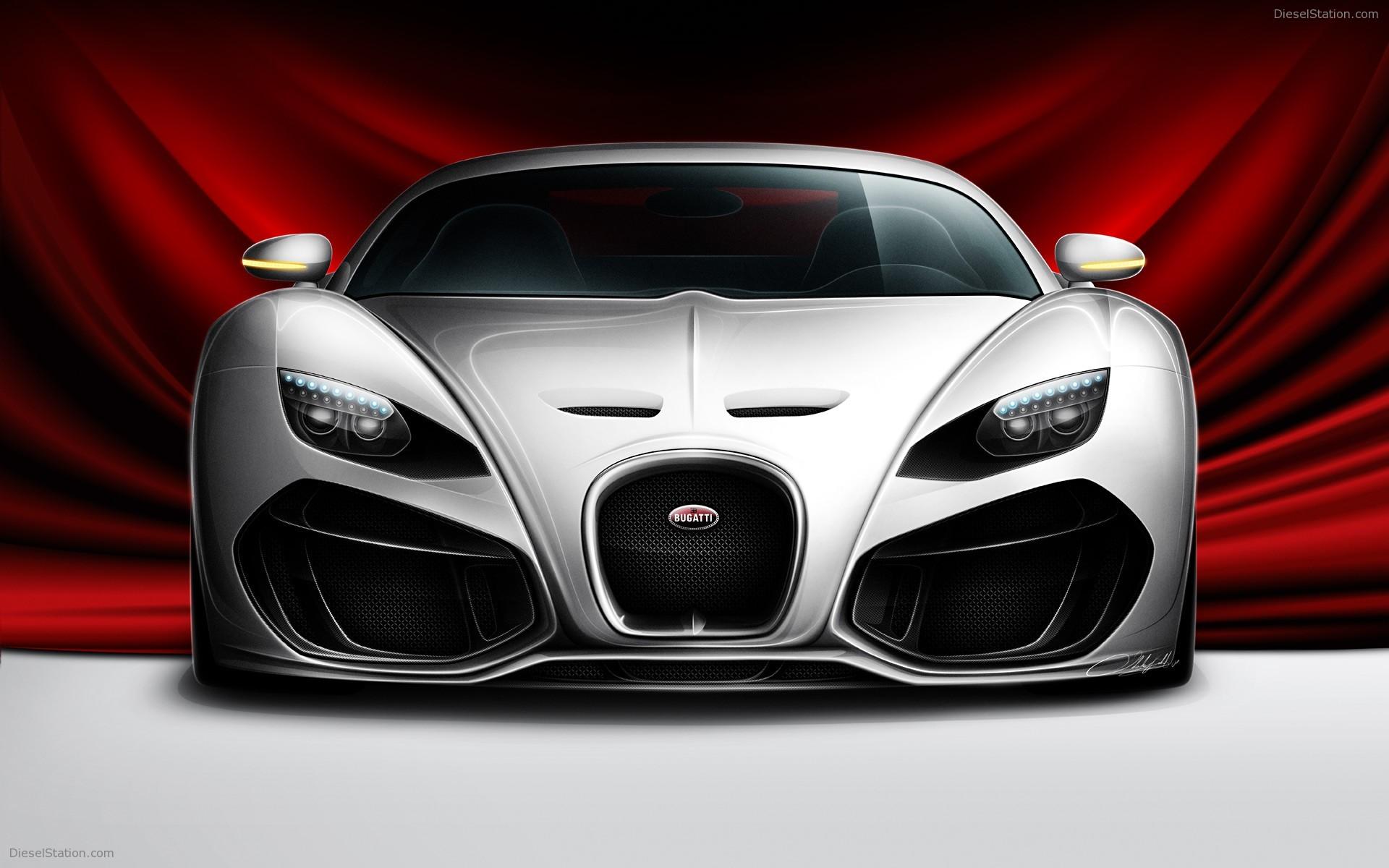Bugatti Venom Concept Volado Design Widescreen Home Automotive Wallpaper For Computer