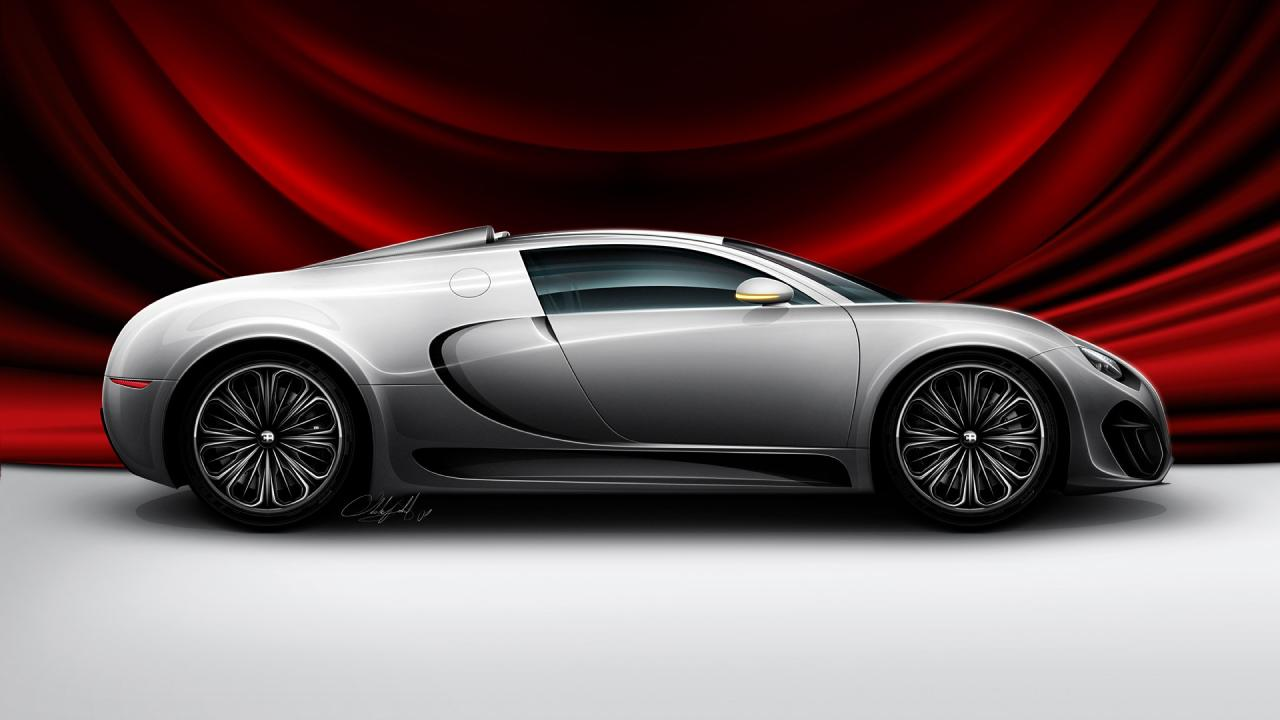 Bugatti Venom Wallpaper Cars Graphics For Desktop