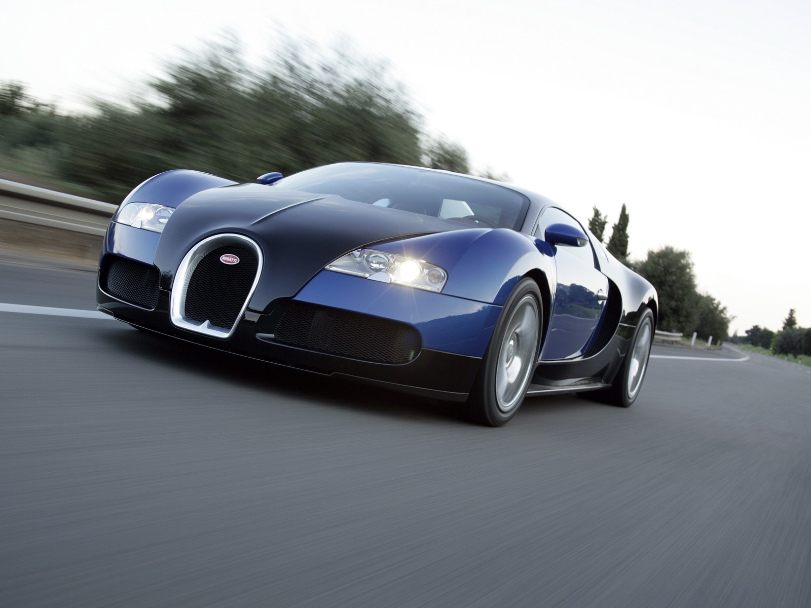 Bugatti Veyron Blue Grand Sport Wallpaper HD