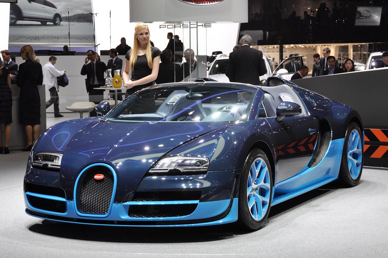 Bugatti Veyron Grand Sport Vitesse Geneva Motor Show Wallpapers Background