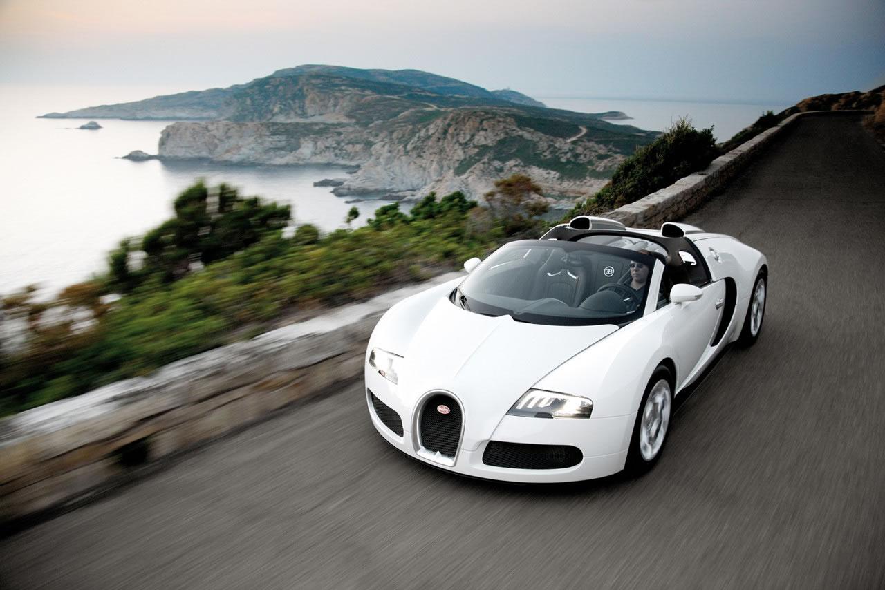 Bugatti Veyron Grand Sport Desktop Background