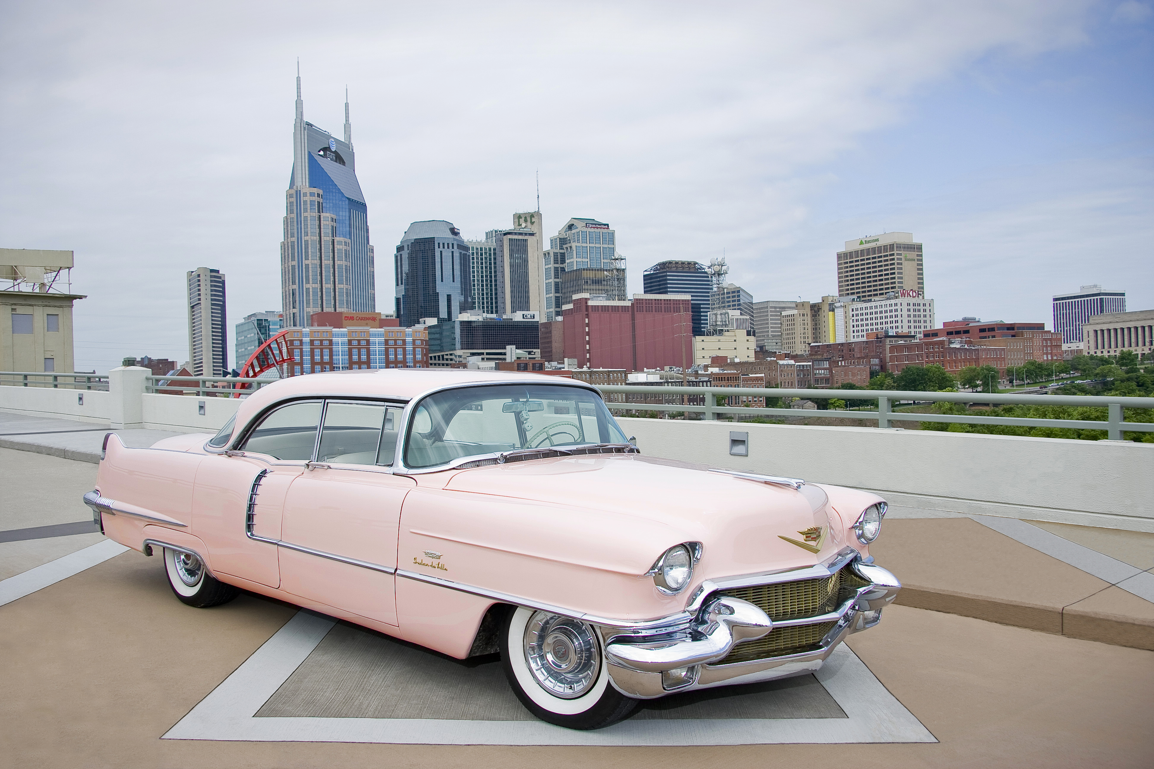 Caddy New Evans Glass Pink Cadillac Wallpaper HD For Android