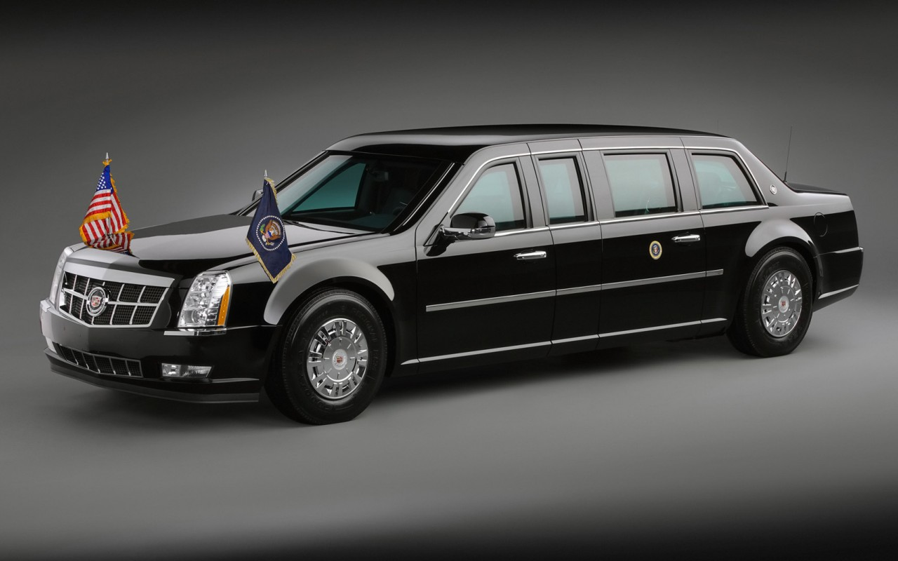 Cadillac Presidential Limousine 2009 Wallpaper HD For Iphone