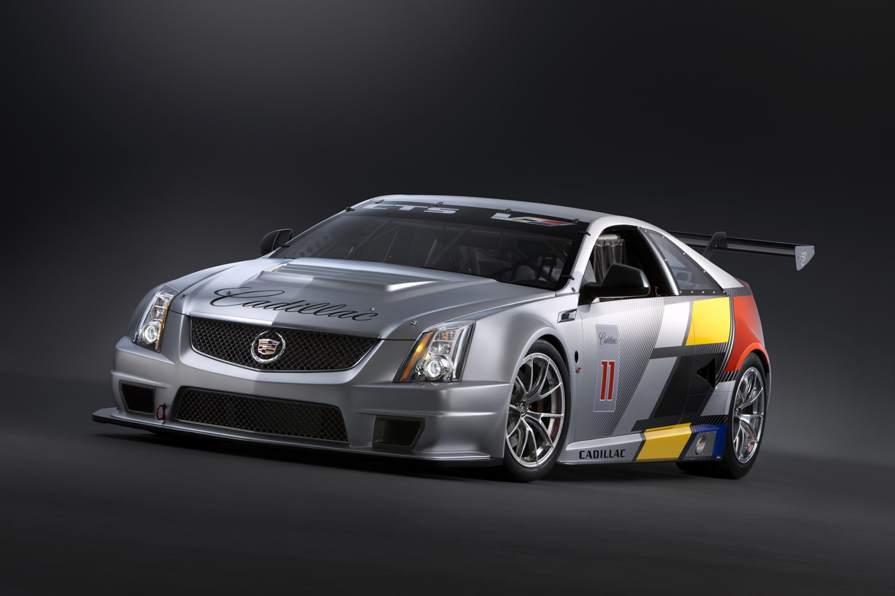 Cadillac CTS-V Coupe Scca Race Car Unveiled Detroit Preview Wallpaper Download