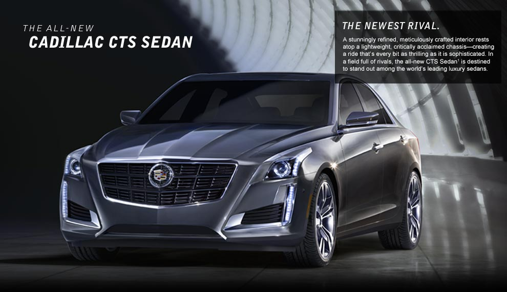 2014 Cadillac CTS-V Sport Canada Wallpapers HD