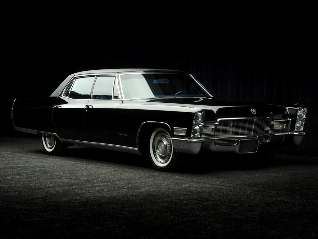 Cadillac fFleetwood 1968 Wallpaper For Android