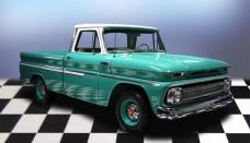Chevrolet C 10 Shortbed Pickup Truck Wallpaper For Ios
