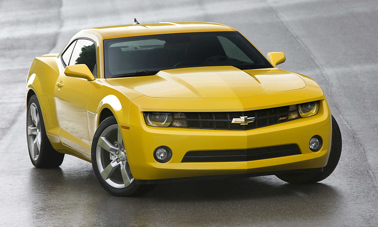 Chevrolet Camaro Production 2010 Yellow Main Wallpapers Download