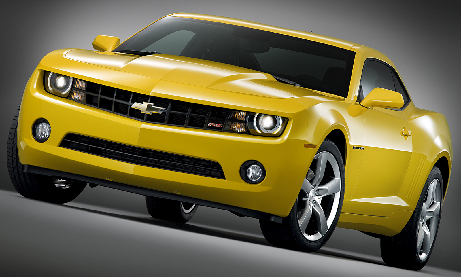 Chevrolet Camaro Production 2010 Yellow Nose Wallpaper HD