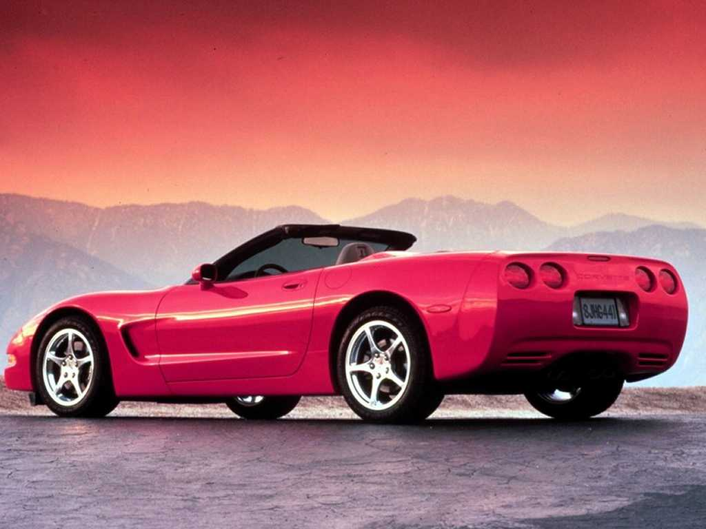 The Chevrolet C5 Is The Fifth Generation Of The Sports Car Wallpapers Desktop Download
