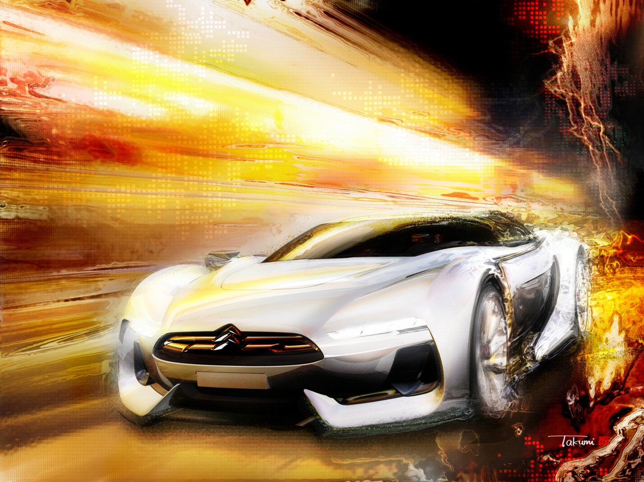 Citroen GT Exotic Pictures Galleries Wallpaper For Ipad