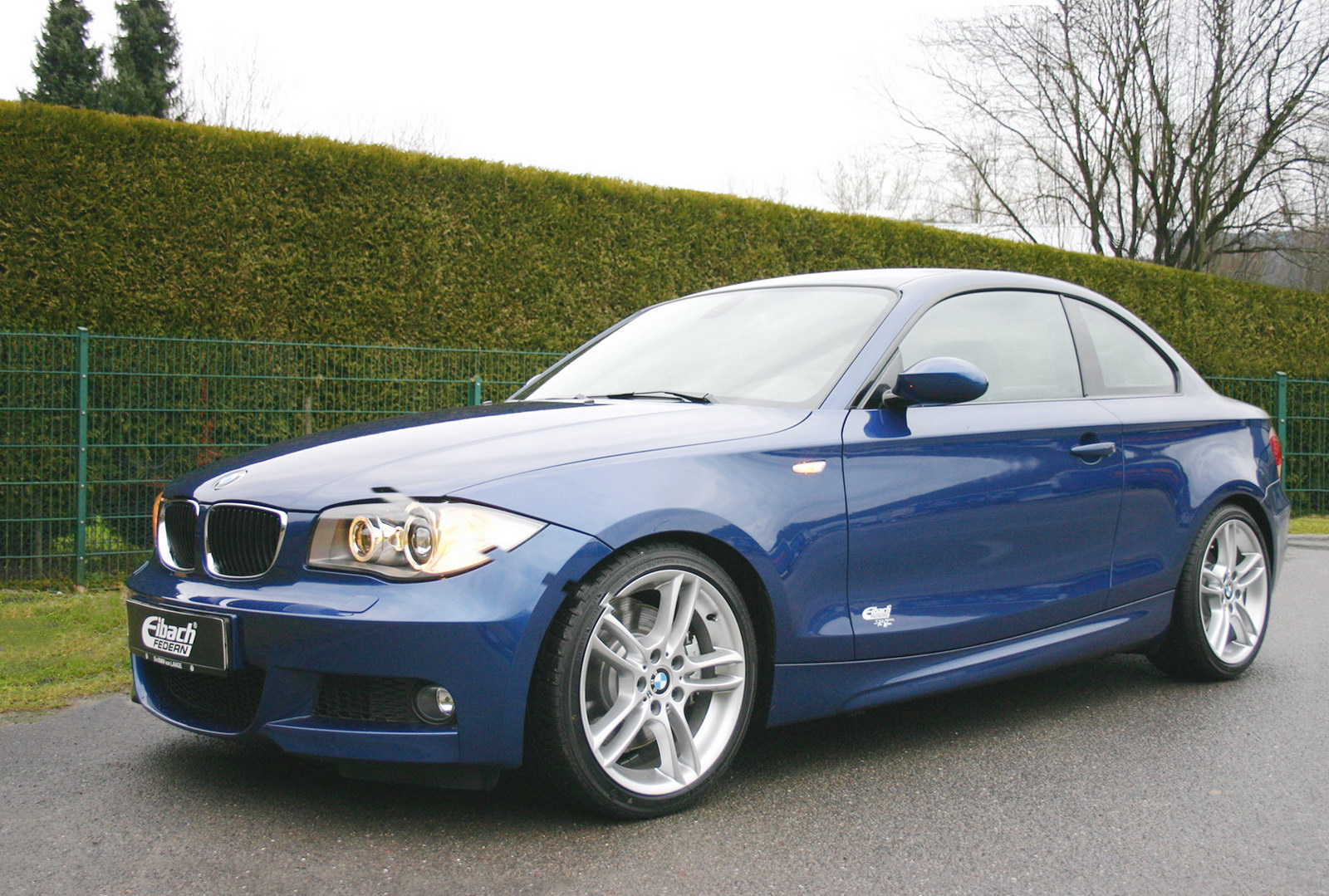 Eibach BMW 1 Series Coupe Wallpaper For Iphone