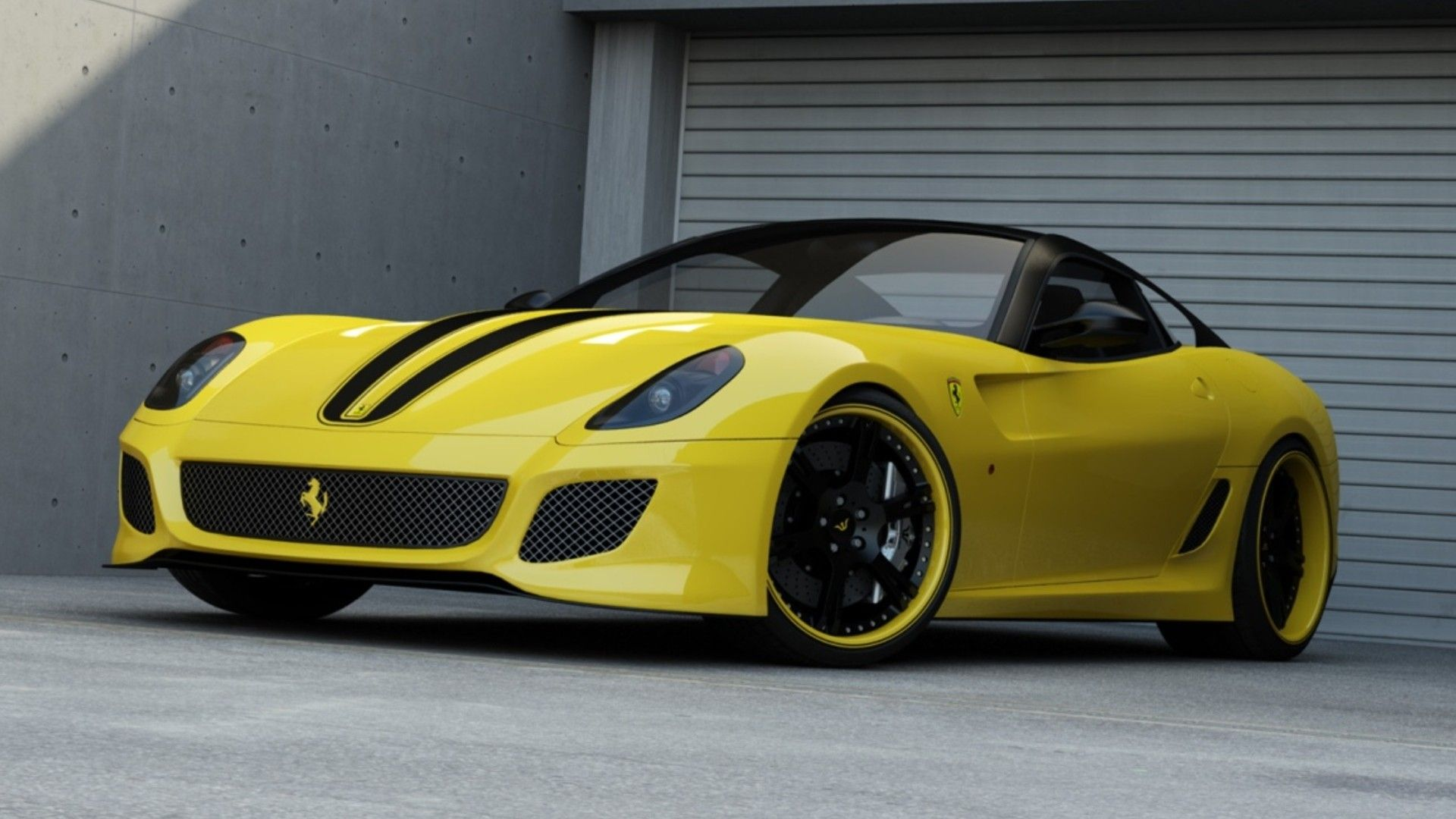 Ferrari 599 Wallpaper With Resolution of Full View and Download