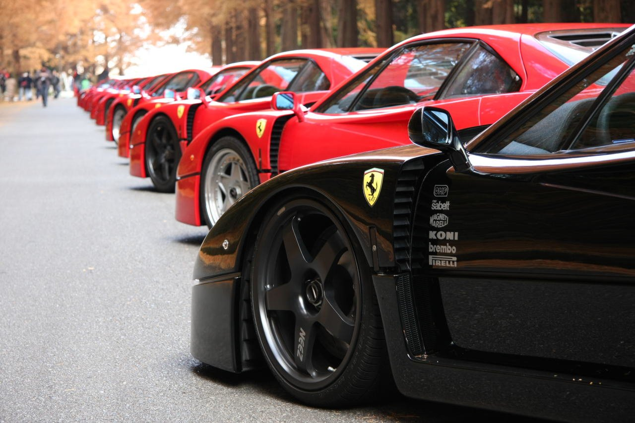 Ferrari F40 Show Photo Album Of A Motoring Legend World Cars Wallpaper For Desktop