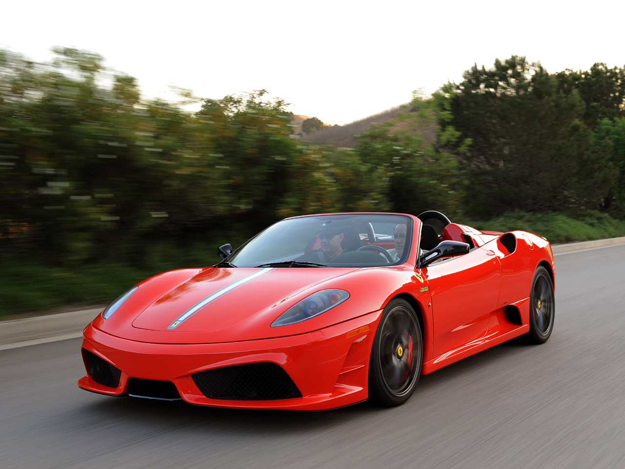 Ferrari Scuderia Spider 16m Front View World Cars Free Download Image Of