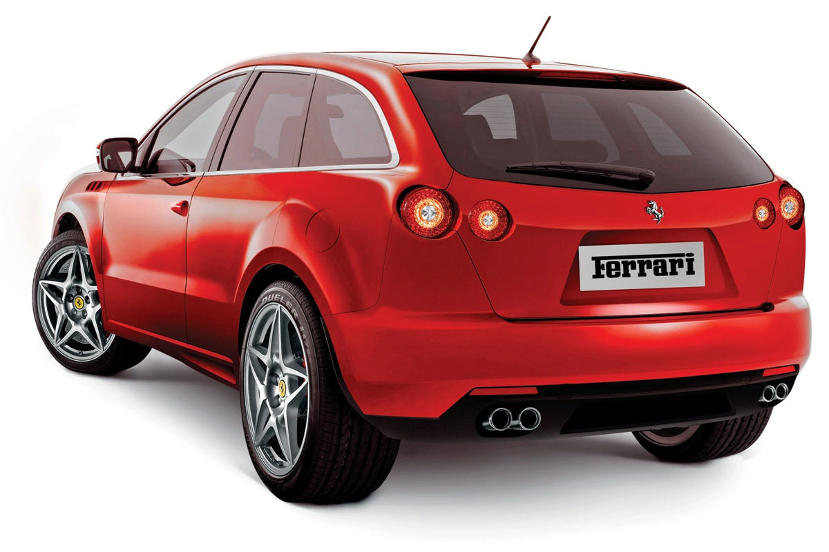 Ferrari Suv Artist Renderings World Cars Wallpaper For Android
