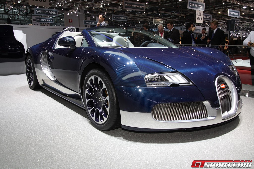 Geneva 2011 Bugatti Veyron Grand Sport Thread Wallpaper Desktop Download