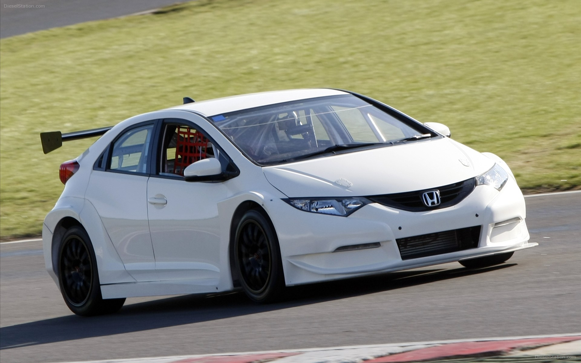 Honda Civic Touring Car 2012 Widescreen Wallpaper For Background
