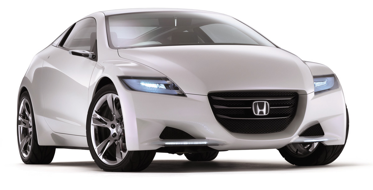 Honda Crz Concept Angular Exterior Front Wallpaper For Iphone