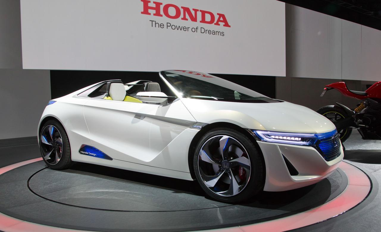 Honda EV STER Small Sports Car Concept Wallpaper Download