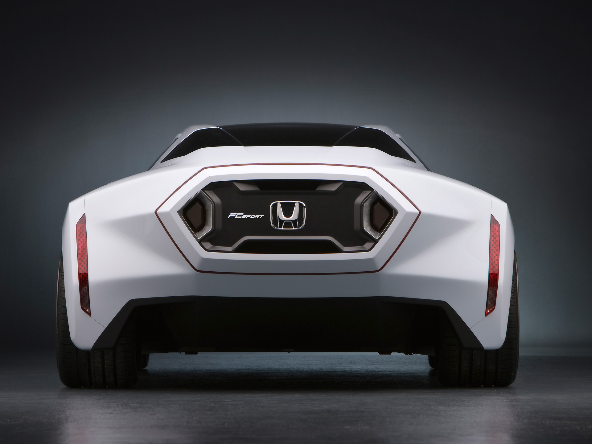 HONDA FC REAR WALLPAPERS Auto Desktop Wallpapers