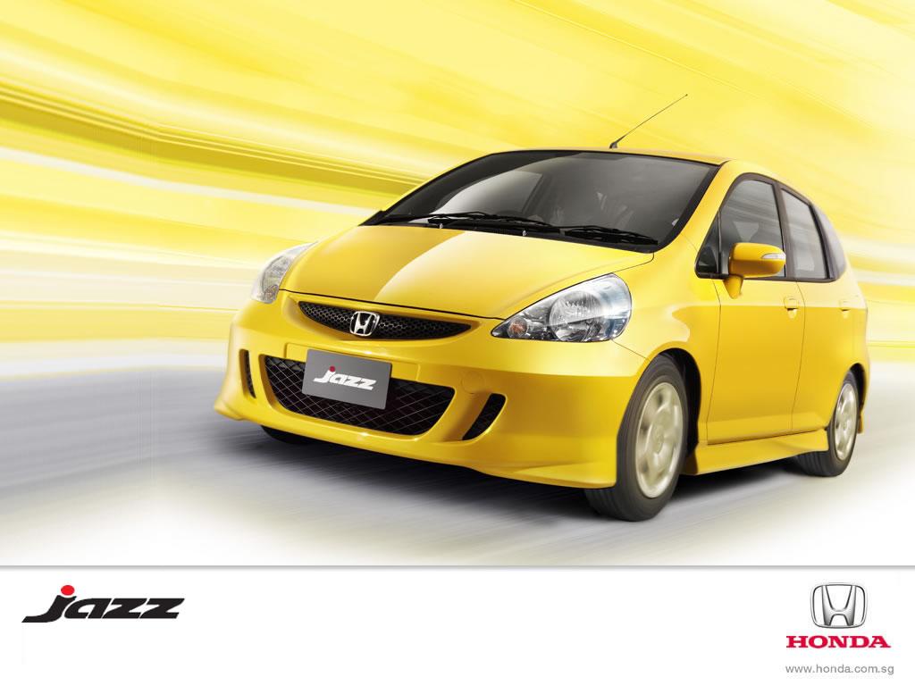 Honda Jazz Yellow in India Wallpaper Download Wallpaper
