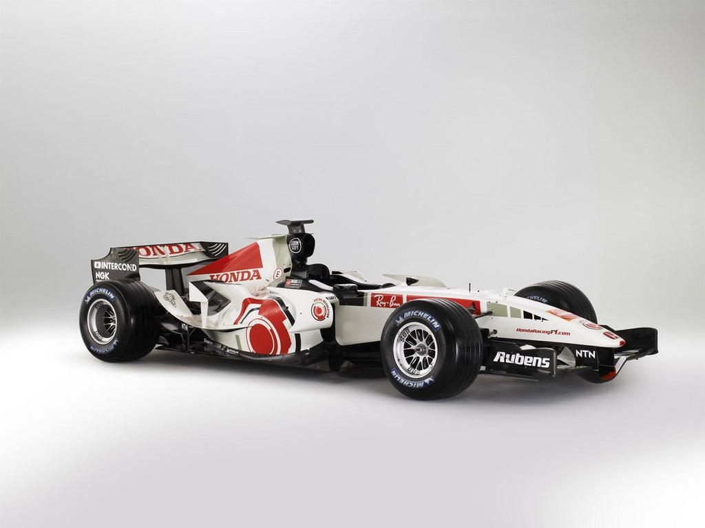 Honda Racing RA106 Formula 1 Car For Ipad