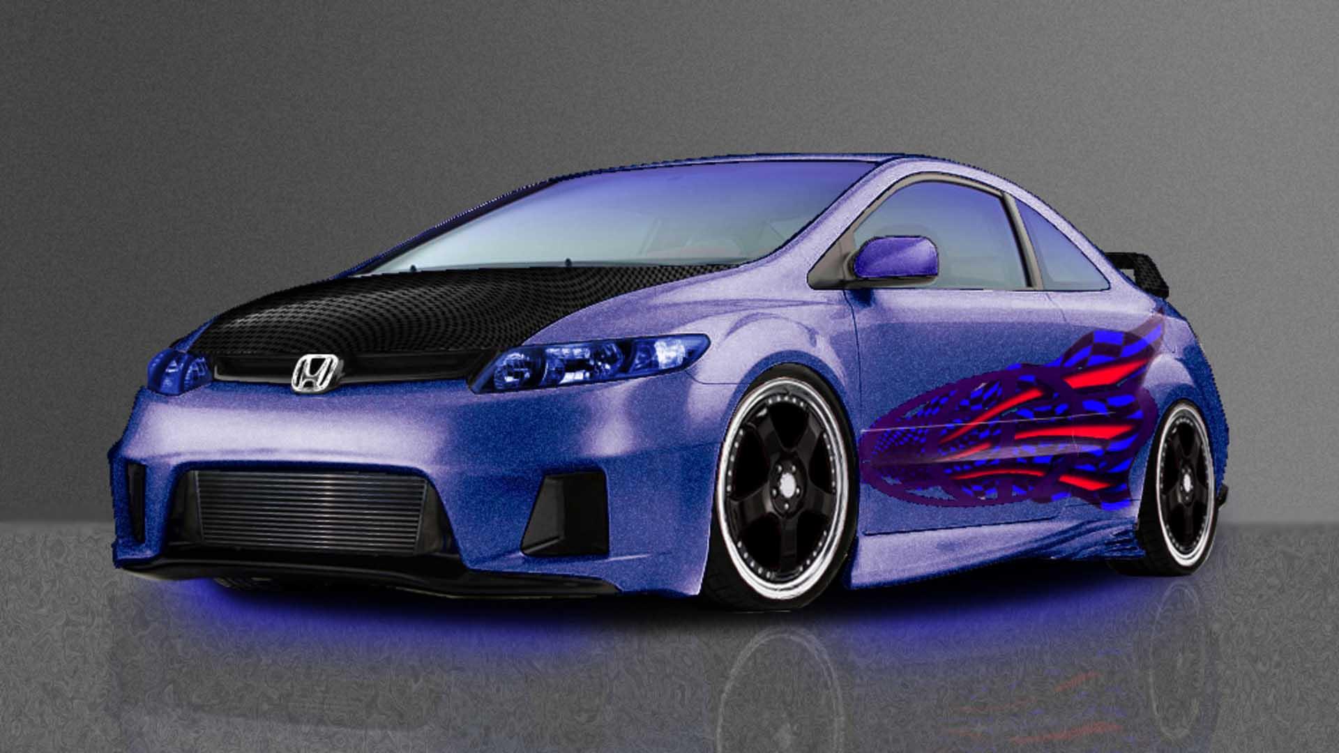 Hot Exotic Honda Custom Free Download Image Of