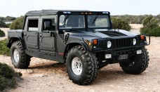 Hummer H1 Black Softtop Wallpapers Download