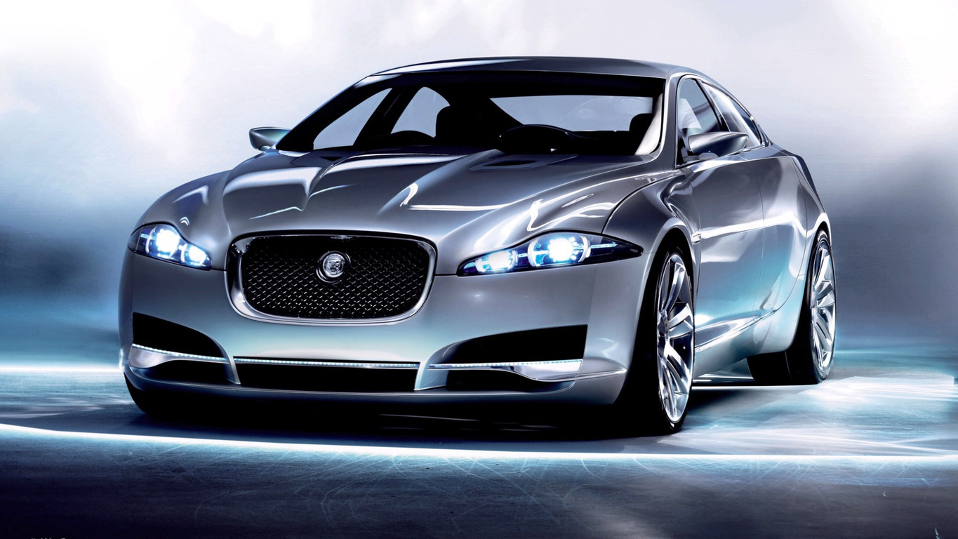 Jaguar C-XF Wallpaper HD Desktop Background